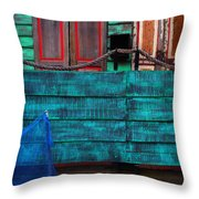 Salsa Throw Pillow by Skip Hunt