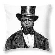 Samuel D. Burris Throw Pillow by Granger