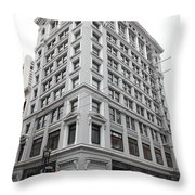 San Francisco Shreve and Company on Grant Street - 5D17918 Throw Pillow by Wingsdomain Art and Photography