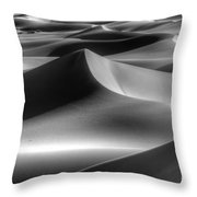 Sands Of Time Throw Pillow by Bob Christopher
