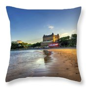 Scarborough Eve Throw Pillow by Svetlana Sewell