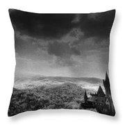 Schloss Wernigerode Throw Pillow by Simon Marsden