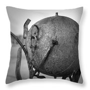 Sculpture Throw Pillow by Eric Gendron