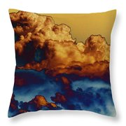Sea And Sky Throw Pillow by One Rude Dawg Orcutt