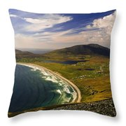 Seascape Vista Throw Pillow by Gareth McCormack