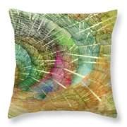 Season Of The Shell Throw Pillow by Betsy Knapp