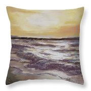 Sesuit Sunset Throw Pillow by Jack Skinner