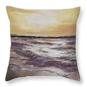 Sesuit Sunset Throw Pillow by Jack Skinner