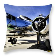 Shiny Throw Pillow by Greg Fortier