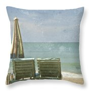 Side By Side Throw Pillow by Nomad Art And  Design
