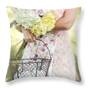 Simple Life Throw Pillow by Stephanie Frey