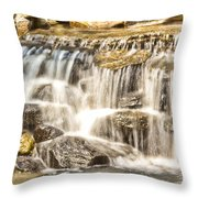 Simple Yet Powerful Waterfall Throw Pillow by Daphne Sampson