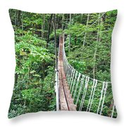 Sky Bridge 2 Throw Pillow by Aimee L Maher Photography and Art Visit ALMGallerydotcom