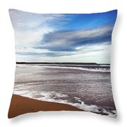 Smooth Wave Throw Pillow by Svetlana Sewell