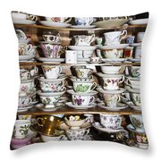 So Happy Together Throw Pillow by Brenda Giasson