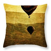 Soaring Heights Throw Pillow by Andrew Paranavitana