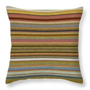 Soft Stripes l Throw Pillow by Michelle Calkins