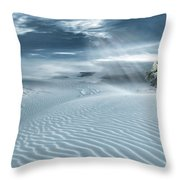Solace Throw Pillow by Lourry Legarde