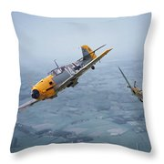 Some You Win........... Throw Pillow by Pat Speirs
