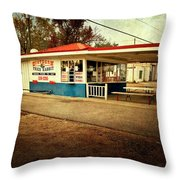 Southern Fried Rabbit Throw Pillow by Tamyra Ayles