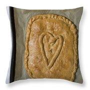 Spanish Empanada Throw Pillow by Frank Tschakert