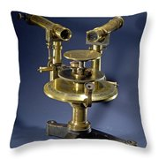 Spectroscope, Circa 1920 Throw Pillow by Science Source