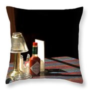 Spice Of Life Throw Pillow by Greg and Chrystal Mimbs