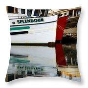 Splendour Throw Pillow by Bob Christopher