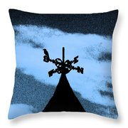 Spooky Silhouette Throw Pillow by Al Powell Photography USA