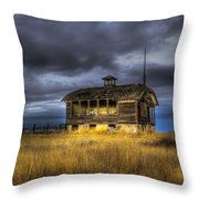 Spot On The School House Throw Pillow by Jean Noren