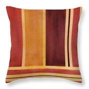 Square With Lines 2 Throw Pillow by Hakon Soreide