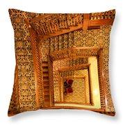 Squiral Throw Pillow by Kristin Elmquist