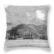 ST. THOMAS, 1844 Throw Pillow by Granger