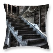Stairway To Ruin Throw Pillow by Andrew Pacheco