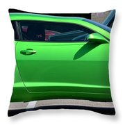 Standing Out In A Crowd Throw Pillow by Maria Urso