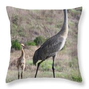 Standing Tall Throw Pillow by Carol Groenen