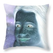 Star Freckles Throw Pillow by Nikki Marie Smith