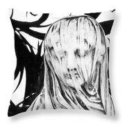 Statue Throw Pillow by Simon Marsden