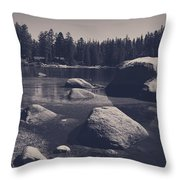 Step By Step Throw Pillow by Laurie Search