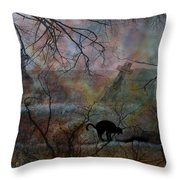 Still In There Throw Pillow by Shirley Sirois