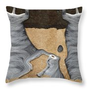 Stone Men 27 - Mama Fiesta Throw Pillow by Variance Collections