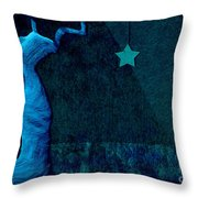 Stone Men 30-33 C02c - Les Femmes Throw Pillow by Variance Collections