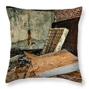 Stonehaven Rehab Throw Pillow by Steve Harrington