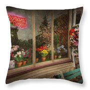 Store - Belvidere NJ - Fragrant Designs Throw Pillow by Mike Savad