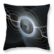 String Quartet Throw Pillow by Andee Design