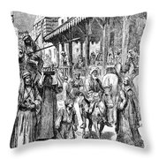 Sudan: Slavery Throw Pillow by Granger