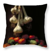 Summer Harvest Throw Pillow by Garry McMichael