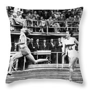Summer Olympics, 1952 Throw Pillow by Granger
