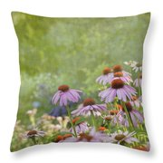 Summer Rains Throw Pillow by Reflective Moment Photography And Digital Art Images