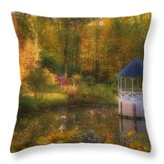 Summer's Whisper Throw Pillow by Joann Vitali